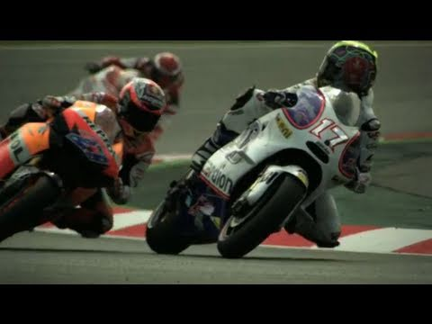High speed MotoGP cornering at 1000fps - Casey Stoner  - Red Bull Moments