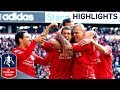 Liverpool 2-1 Man Utd - Official Highlights and Goals | FA Cup 4th Round Proper 28-01-12