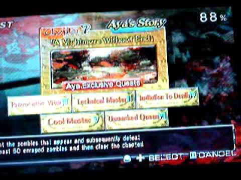 Bug de: OneChanbara Bikini Zombie Slayer (Wii) - Demasiados Zombies
