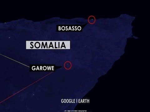 CBS Evening News with Scott Pelley - Using satellites to fight Somali piracy