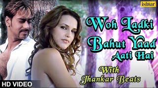 Woh Ladki Bahut Yaad - JHANKAR BEATS  Ajay Devgn  Qayamat  90\'s Bollywood Romantic Songs