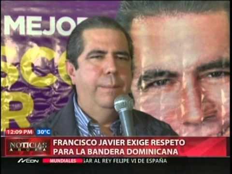 Francisco Javier exige respeto para la bandera…