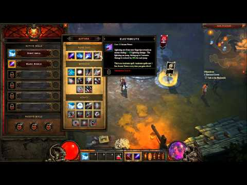 Diablo 3 Beta - Wizard Gameplay by Ohmwrecker