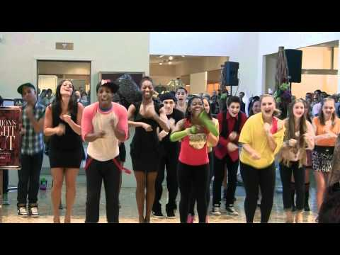 Todrick Hall Does Party Rock Anthem at Neiman Marcus!