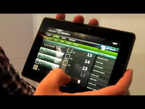 CES 2011: BlackBerry PlayBook Apps
