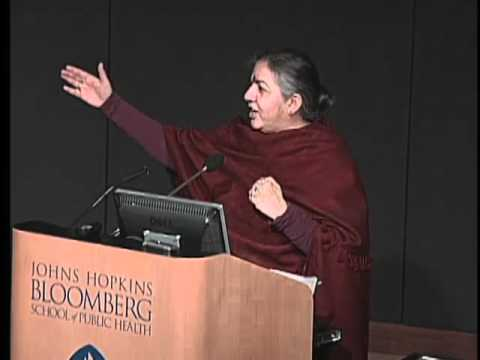 2009 Dodge Lecture  -  Agriculture, Environment and Health  - Vandana Shiva