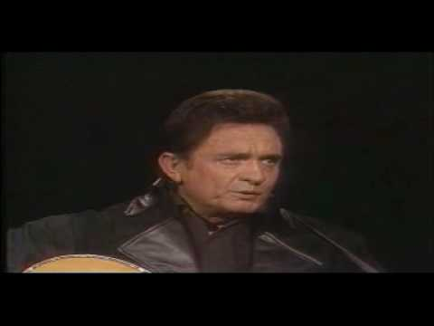 Johnny Cash Man In Black