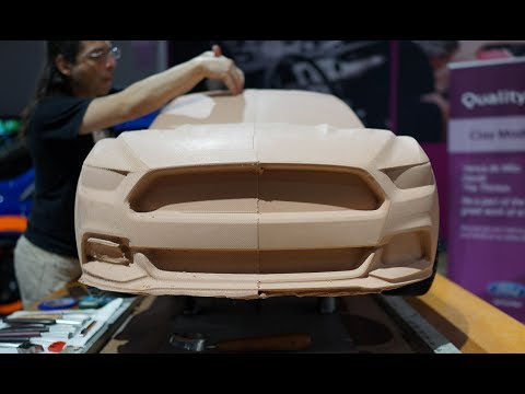 3D Printing 2015 Ford Mustang in Chocolate