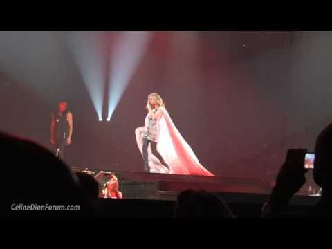 Celine Dion - New Mego's Flamenco & Eyes On Me (Montreal, 8-15-2008) HD