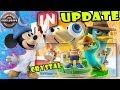 Disney Infinity: Phineas & Agent P Toy Box + Crystal Mickey Update (+ more release dates)