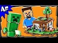 Lego Minecraft The FIRST NIGHT 21115 Stop Motion Build Review