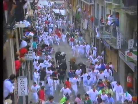 Encierro de San Fermín   14 de julio de 1999 480p