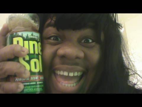 Crazy Pine Sol Lady Commercial