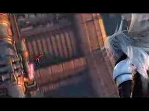 Final Fantasy VII Crisis Core - Angeal vs Genesis vs Sephy