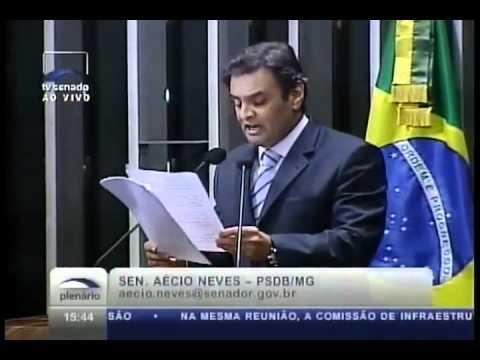 Aécio Neves - Discurso no Senado - Caminhos da Oposição - 1ª Parte