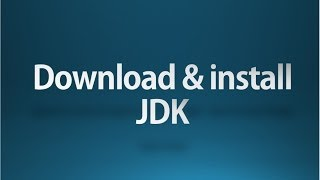 Core java tutorial part 1 Installing jdk