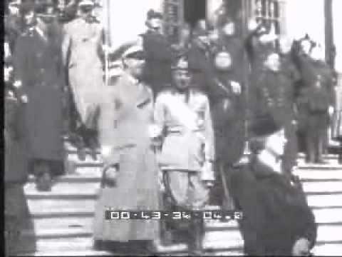 Le spoglie di Leopardi traslate al parco Virgiliano - Napoli, 01/03/1939