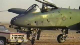 The raw video of Col Bob Efferson, Commander, 926th TFG brings his battle damaged A-10 76-0450 riddled with 378 holes back to KFIA on 31 Jan 1991.