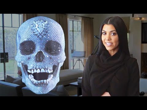 Architectural Digest 'Inside Kourtney Kardashian's Home' Cover Shoot