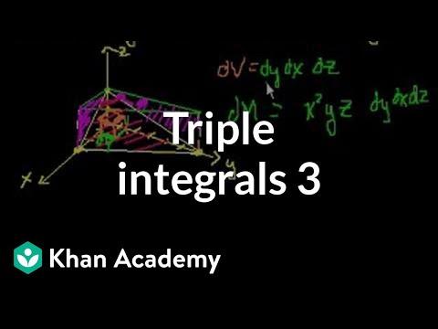 Triple Integrals 3