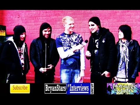 Motionless In White Interview UNCUT Black Veil Brides Tour  2011