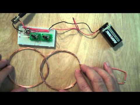Детектор металлоискатели своими руками 17