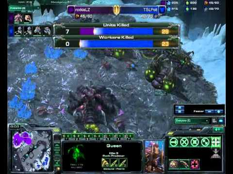 Starcraft Commentary #112 - roxkisLZ vs. TSLPolt (BNet, Game Two)