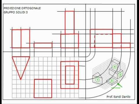 Proiezione ortogonale gruppo solidi 3
