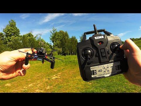 DM002 DIY Micro FPV Drone...Не дорогой квадрокоптер с камерой - UCmTxglWIunAi6t_ciyB0kkw