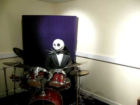 Jack Skellington Plays The Drums