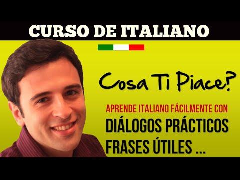 Curso de Italiano 2 Frases en Italiano - Aprender Italiano