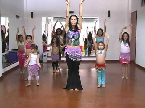 """Magnolia Vargas """"una filosofia de vida"""" - Danza arabe para niñas (negro 2)"""