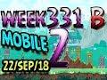 Angry Birds Friends Tournament Level 2 Week 331-B  MOBILE Highscore POWER-UP walkthrough