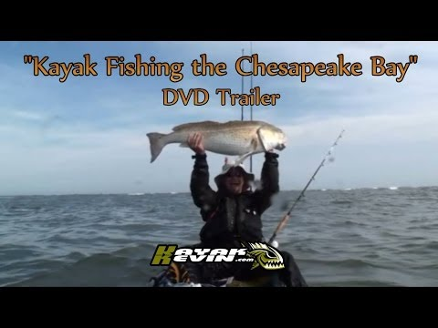 Kayak Fishing the Chesapeake Bay DVD trailer