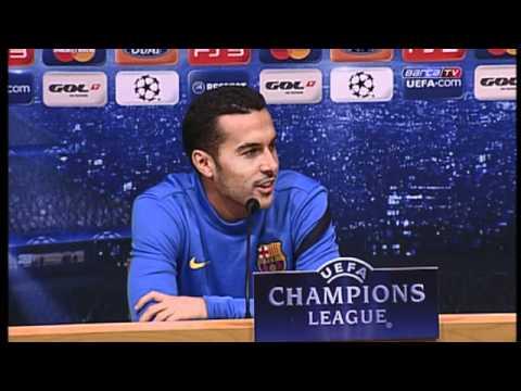 FC Barcelona - Pedro: Queremos cerrar la fase de grupos sin perder