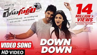Down Down Full Video Song  - Race Gurram