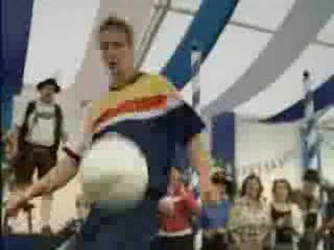 Funny Pepsi Soccer Commercial