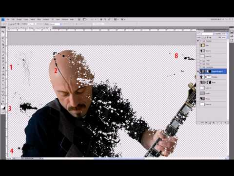 Cristian Ribichini - Photoshop Tutorial - Effetto scioglimento.