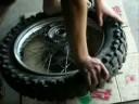 xr  650 tire change