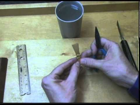 Bassoon Reed Making 4: Forming the Tube