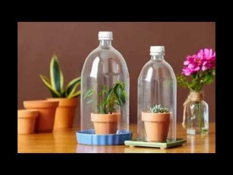Kerajinan Tangan Dari Barang Bekas | Botol Plastik Bekas