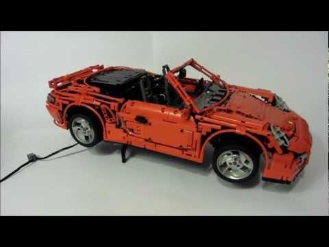 LEGO Porsche 911 (997) Turbo Cabriolet PDK