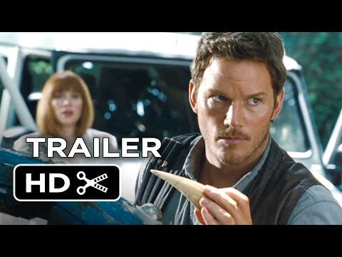 Jurassic World Official Trailer #1 (2015) - Chris Pratt, Jake Johnson Movie HD