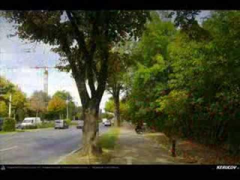 VIDEOCLIP Cu bicicleta prin Bucuresti - 8: Universitate - Vila Minovici - Kiseleff - Calea Victoriei