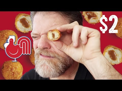 NEW RED ROOSTER MASH AND GRAVY BALLS FOOD REVIEW - Greg's Kitchen - UCGXHiIMcPZ9IQNwmJOv12dQ