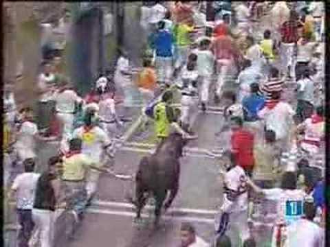 Encierro San Fermín - 12 Julio 2006