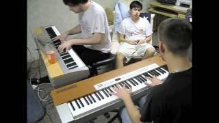 Kingdom Hearts - Dearly Beloved Piano Duet V2  FT. Matt Roy