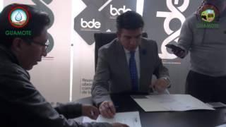 FIRMAS DE CONVENIO BANCO DEL ESTADO