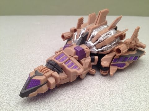 FALL OF CYBERTRON BLASTOFF - SDCC BRUTICUS TRANSFORMERS TOY REVIEW