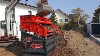 Aufbereitung Erde LS28 / Processing Soil LS28